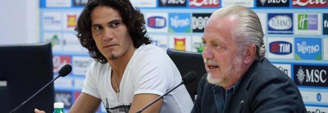 Cavani: «Tornerei a Napoli ma non con De Laurentiis»
