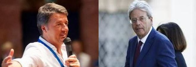 Renzi e Gentiloni