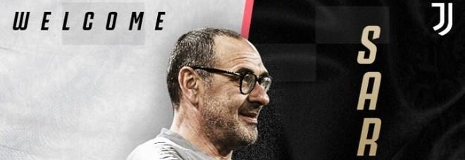 Ufficiale: Sarri allenatore della Juve L'annuncio di Chelsea e bianconeri