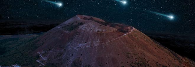Il Vesuvio «by night» tra sentieri e stelle cadenti