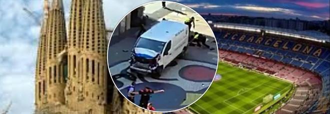 Attentato a Barcellona, i terroristi volevano usare furgoni esplosivi contro Sagrada Familia e Camp Nou
