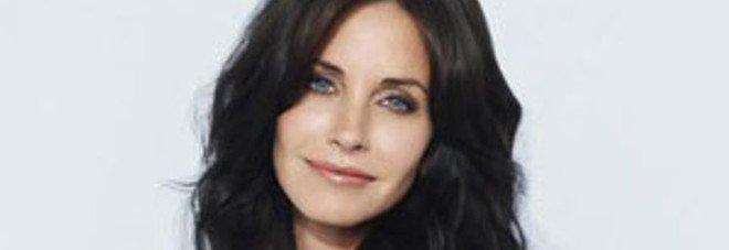 L'attrice Courteney Cox