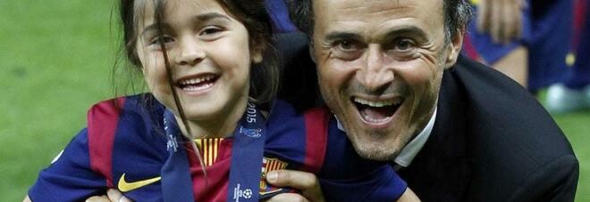Luis Enrique, il ricordo commovente della figlia Xana morta un anno fa