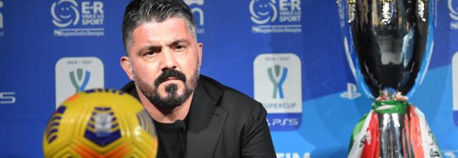 Juventus-Napoli, Gattuso non si fida: «Mai dare i bianconeri in crisi»