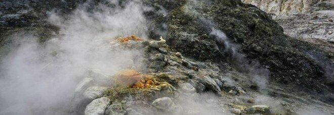 Campi Flegrei, nuova scossa di terremoto: epicentro nel vulcano Solfatara