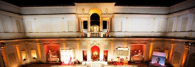 Il Ninfeo di Villa Giulia, dove si svolge la finale