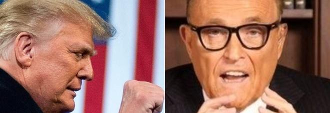 Trump scarica Giuliani e dichiara guerra al leader dei senatori repubblicani Mitch McConnell