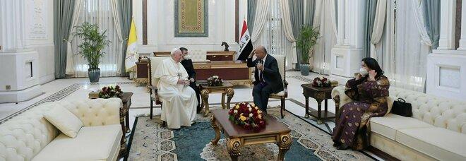 Papa Francesco a Baghdad: «Imploro perdono per distruzioni e crudeltà»