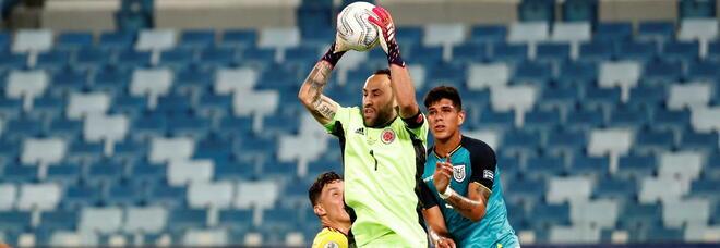 Ospina super nell'esordio in Copa: «Siamo all'altezza del Brasile»