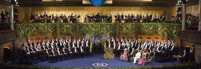 La cerimonia di premiazione del Nobel
