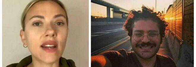 Scarlett Johansson lancia appello per Zaki: «Liberatelo. La polizia l'ha torturtato quando è stato arrestato»
