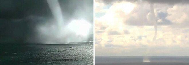Ecco le impattanti immagini di insoliti tornado marini sulle rive del Mar Nero - VIDEO