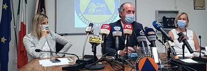 Veneto, Zaia: «Oggi 1.043 contagi. Nuova ondata è anomala»
