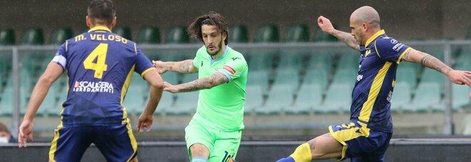 Verona-Lazio 0-1: al 92' Milinkovic in gol e i capitolini non mollano