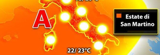 Meteo, arriva l'alta pressione africana: da domenica una settimana