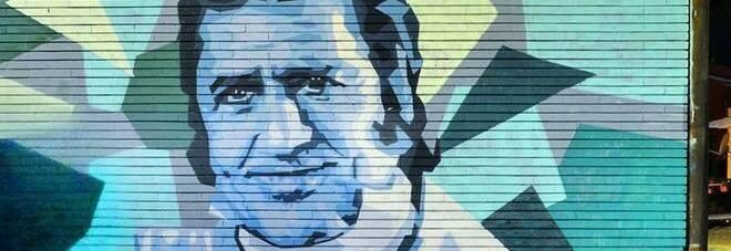 Roma, a Garbatella il murale dedicato a Sordi. Da Mou a Proietti, l arte è anche sui muri della città