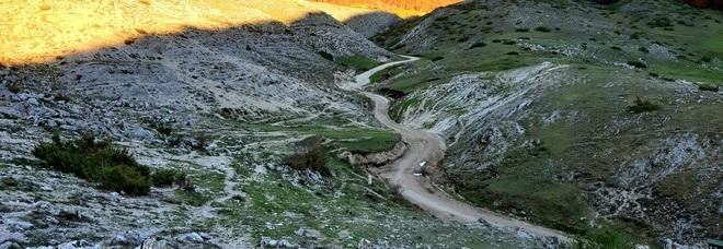 sentiero sui Monti Simbruini Abruzzo