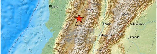 Terremoto in Colombia di magnitudo 6.1: «Scossa lunghissima e intensa». Si temono feriti