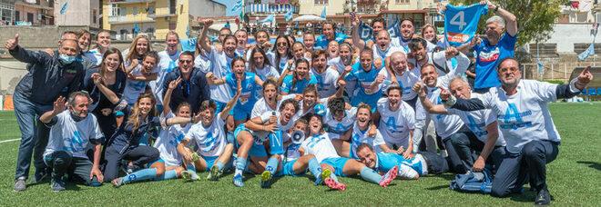 Napoli femminile, già 15 giocatrici e ritiro in Abruzzo come gli azzurri
