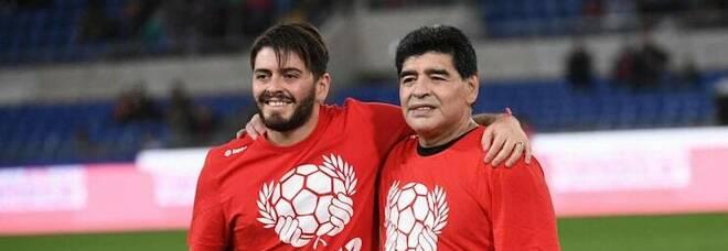Maglia Napoli, Maradona jr: «Burlon l'ha dedicata a mio padre»