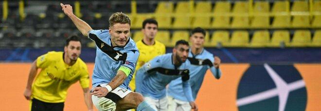 Borussia Dortmund-Lazio 1-1: Immobile non basta, la qualificazione è rinviata