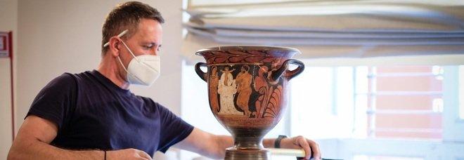 Mann, inizia l'allestimento della mostra «Omero, Iliade» sulle righe di Baricco