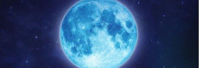 Notte di Pasqua con la Luna blu: evento raro, ricordatevi di alzare gli occhi al cielo