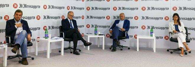 Comunali Roma, Calenda-Gualtieri-Michetti-Raggi: i candidati sindaco a confronto al Messaggero. Diretta
