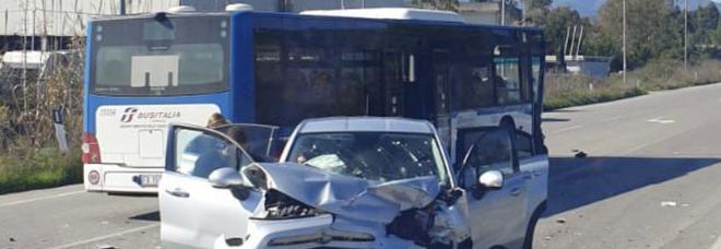 Incidente a Vallo Scalo, la donna ferita è morta in ospedale