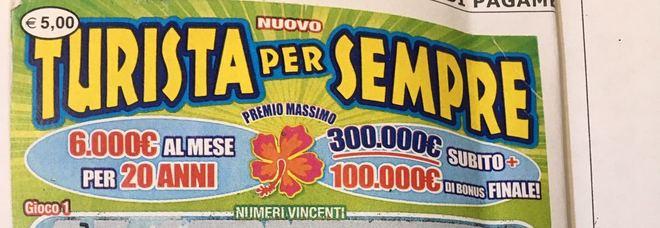 """Vince due milioni a Ottavia con un """"Turista per sempre"""" da cinque euro"""