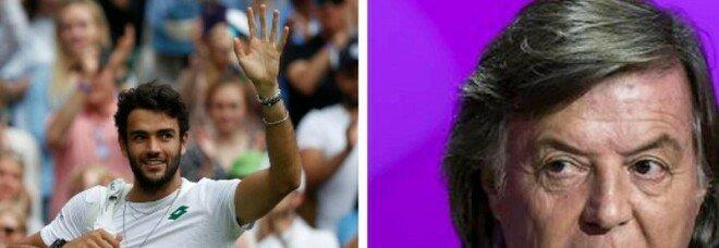 Berrettini in finale a Wimbledon, l'impresa storica nel giorno della nascita di Panatta