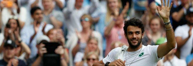 Berrettini primo italiano in finale a Wimbledon: «Devo crederci, domenica porterò il Tricolore»