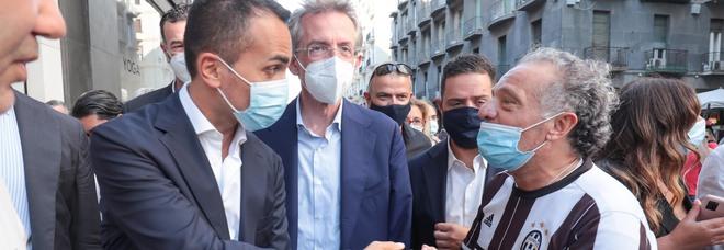 Elezioni amministrative 2021, Di Maio in tour tra Napoli e Salerno