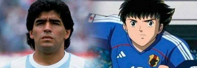 «Maradona ha ispirato Holly»: la confessione del creatore