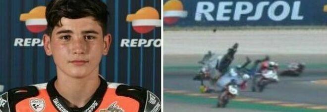 Hugo Millan è morto: il motociclista 14enne investito in gara da un altro pilota