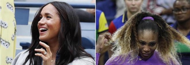 Meghan Markle, haters scatenati: «Ha snobbato la regina per portare male a Serena Williams»