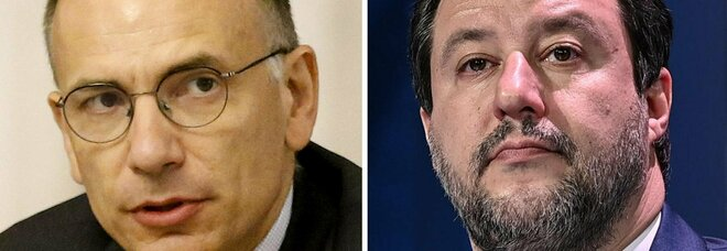 Letta, lite con Salvini sul coprifuoco: «Riaperture? Se sbagliamo salta l'estate»