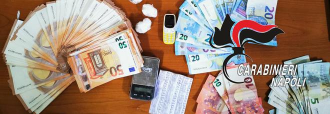 Volla, arrestata coppia di spacciatori incensurati: scoperti con la cocaina