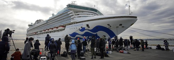 Coronavirus, 60 casi sulla Diamond Princess: totale sale a quota 130