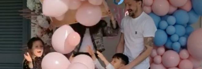 Mario Rui, che festa a Napoli: la sua Renata aspetta una bambina