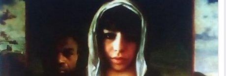 L'opera choc: Pamela-Madonna il bambino è l'assassino Oseghale