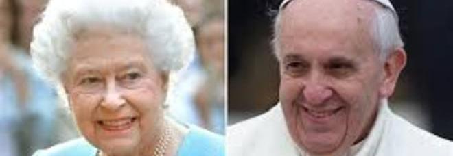 Francesco E Elisabetta Te Per Due E Niente Abiti Informali Per Il Papa E La Regina