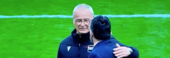 Samp, Ranieri abbraccia Gattuso: «Ma sul raddoppio c'era un fallo»