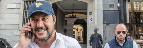 Salvini all'attacco di de Magistris: «Il sindaco chiede aiuto e ci attacca»
