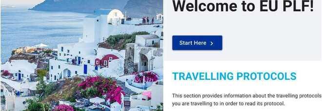 Plf, come ottenere e compilare il modulo necessario per le vacanze in Grecia, Spagna