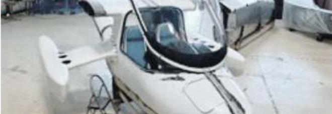 L'auto volante nasce a Casoria: ecco Seagull, l'idrovolante pieghevole