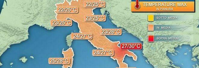 Meteo, perturbazioni in arrivo sull'Italia: ecco cosa succederà nei prossimi giorni