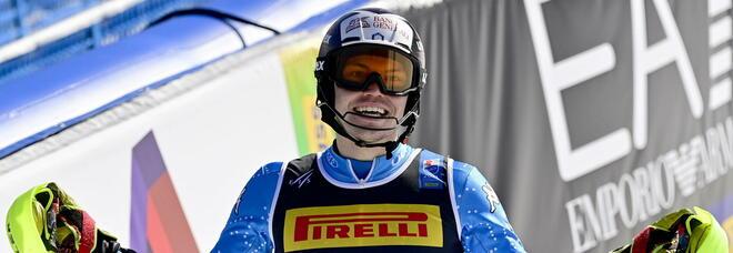 Cortina, chiusura amara per l'Italia: Vinatzer quarto in slalom