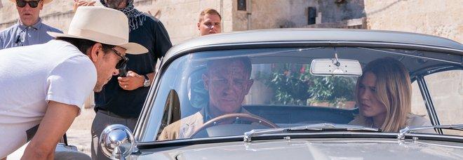 Il set di James Bond a Matera per No time to die con Daniel Craig e il regista Cary Fukunaga
