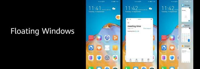Huawei annuncia Emui 11, la nuova versione dell'interfaccia grafica